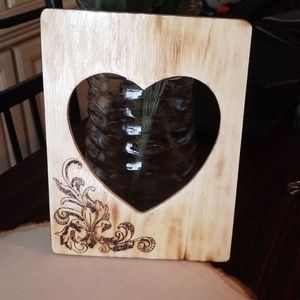 Other - Woodburned picture frame